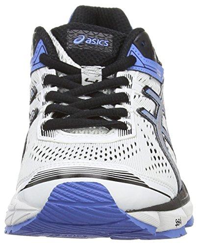Asics Gt-1000 4, Chaussures de Running Entrainement Femme Blanc (White/Silver/Powder Blue 0190)