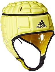 Adidas Rugby Headguard–Protector de cabeza, para hombre, hombre, color Byello/Black/Black, tamaño medium