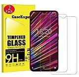 CaseExpert 2 Pack - UMIDIGI F1 Tempered Glass, Tempered