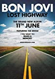 Generic Bon Jovi Lost Highway Foto Poster What About Now Tour CD Bluse 001 (A5-A4-A3) - A5