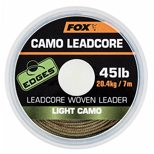 Fox Edges Camo Leadcore 7m, Farbe:Light Camo -