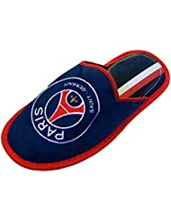 Pantoufles PSG - Collection officielle PARIS SAINT GERMAIN - Taille adulte homme