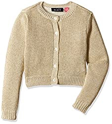 The Childrens Place Girls Cardigan (2070228SV_Snow_L (10/12))