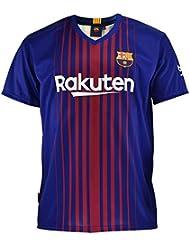 1a83fcb36698a Camiseta 1ª Equipación Replica Oficial FC BARCELONA 2017-2018 Dorsal MESSI  - Tallaje NIÑO JUNIOR