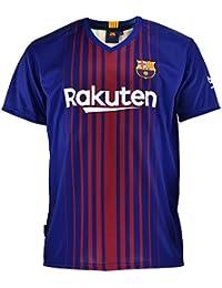 23cf95e2cb Camiseta 1ª Equipación Replica Oficial FC BARCELONA 2017-2018 Dorsal MESSI  - Tallaje NIÑO JUNIOR
