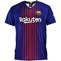 Camiseta 1ª Equipación Replica Oficial FC BARCELONA 2017-2018 Dorsal MESSI - Tallaje NIÑO JUNIOR (4 AÑOS)