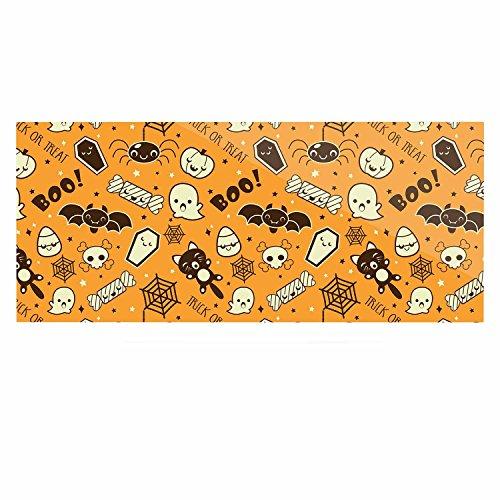 (Kess eigene originalall Cute Halloween orange Luxe Rechteck Panel, 61x 91,4cm 61x 91,4cm)