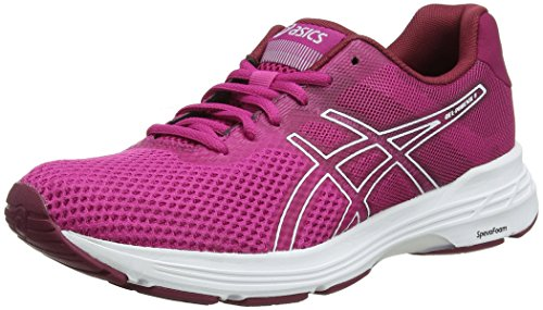 ASICS Gel-Phoenix 9, Chaussures de Running Femme, Multicolore (Fuchsia Red/White 600), 39 EU