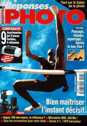 REPONSES PHOTO N° 97 du 01-04-2000 LE SALON DE LA PHOTO - PAYSAGE - VOYAGE - REPORTAGE - COMPARATIF - IMPRIMANTES - MAITRISER L'INSTANT DECISIF