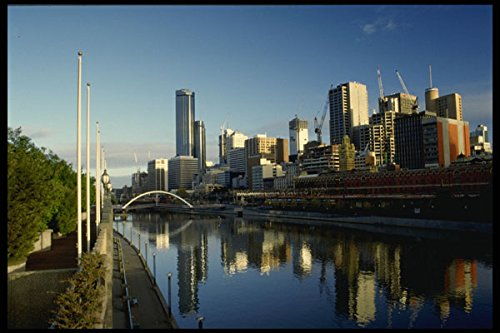 579059 Melbourne Australia A4 Photo Poster Print 10x8