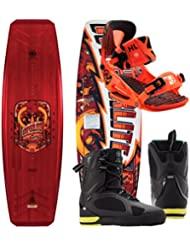 Hyperlite Wishbone 138 2017 avec système PRO Orange + Murray Boots