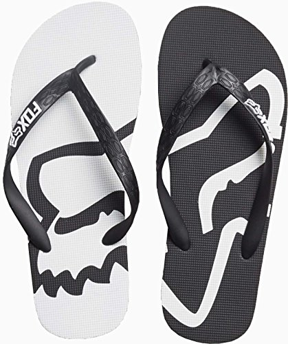 Infradito Fox Racing: Beached Flip Flop GR/RD Nero