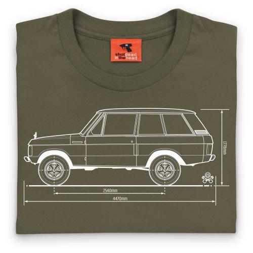 PistonHeads 4x4 SUV T-Shirt, Herren Olivgrn