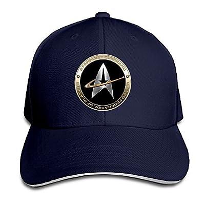 Hittings NEVA Star Trek 50 Adult Baseball Cap Snapback Hats Hip Hop Flat Hat Navy von Walter Margaret - Outdoor Shop
