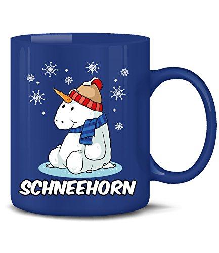 Golebros Einhorn Schneemann Schneehorn 5968 Beruf Arbeit Geschenk Arbeitskollegin Fun Tasse Becher...