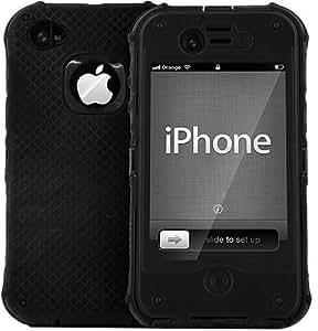 Keystone - Étuis - Keystone NautiCase noir - Coque tout terrain hermétique - iPhone 4/4S