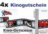 4x Kinogutscheine für CineStar, Cinedom, Cineplex, Cinemaxx, UCI, Kinopolis, Kinostar uvm. von MovieChoice - INKL. ZUSCHLÄGE! INKL. LOGE! Einzulösen in fast allen Kinos in Deutschland und Österreich!