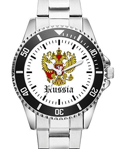 Russland Geschenk Artikel Idee Fan Uhr 1151