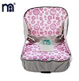 #5: Baby Grow Travel 3-in-1 Multi-Function Inflatable Baby Booster Seat (PINK)