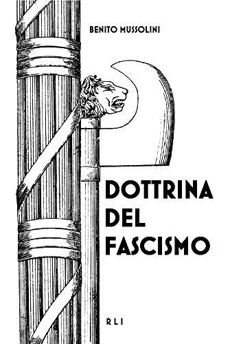 Dottrina del Fascismo: Testo originale (RLI