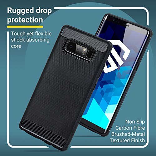 brand new bf075 7d21d Samsung Note 8 Case With Screen Protector - Olixar Sentinel ...