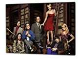 Big Bang Theory, Format: 100x70 Leinwandbild auf Holzrahmen gespannt, Leinwandbild, 1A Qualität zu 100% Made in Germany! Kein Poster Kein Plakat! Echtholzrahmen mit beigelieferten Zackenaufhängern. Fertig bespannt, Sofort dekorieren. Vier verschiedene Formate.