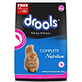 Drools Mackerel Adult Cat Food, 3kg (15% Extra FREE Inside*Limited offer Stock)