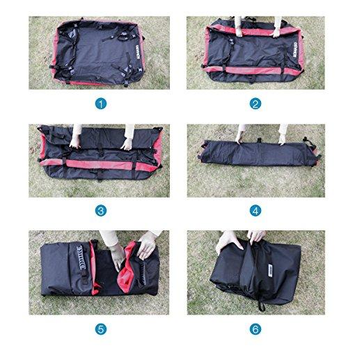 Aomaso auto dachtr ger wasserdicht dachgep ckablage for Bat box obi