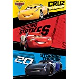 Laminiert Cars: The Movie Cars 3 Trio Maxi Poster 61 x 91,5 cm