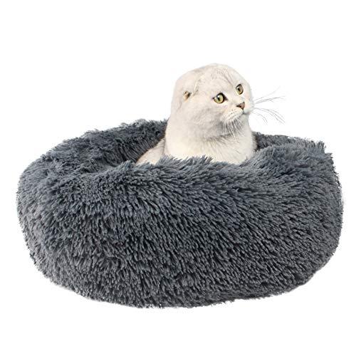 ITODA - Cama Gato Ultra Suave cálida Mascotas, Cesta