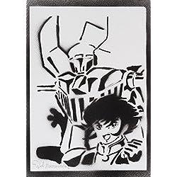 Poster Art Koji Kabuto Y Robot Mazinger Z Hecho A Mano