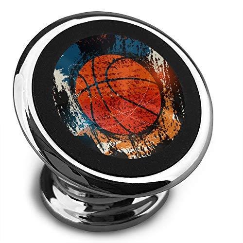 Amoyuan Magnetische Handyhalterung Basketball Retro Aquarell Kunst Auto Handy Halter für Auto mit einem super starken Magnet