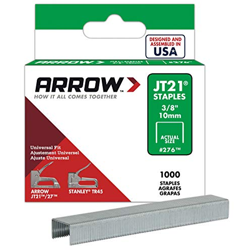 Arrow 160729 JT21 Box 1000 Tackerkla mmern 10 mm - T27 Box