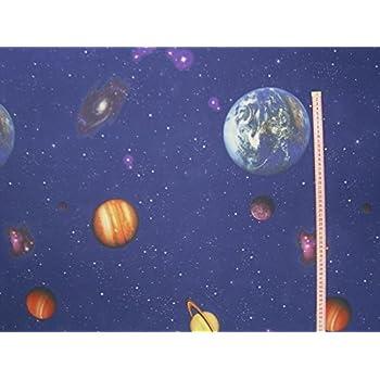 Amazon.de: Gardinen Vorhang Verdunklungsstoff Planeten im Weltraum