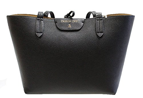 Patrizia Pepe Reversible Shopper black_black x (Shopper Reversible)