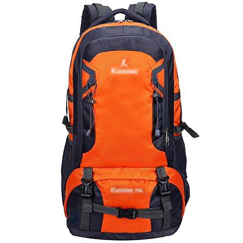 HWLXBB Outdoor Bergsteigen Tasche und Frauen 70L Wasserdichte Mehrzweck-Bergsteigen Tasche Wandern Camping Bergsteigen Rucksack 3*