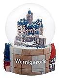 30025Schneekugel Souvenir Wernigerode