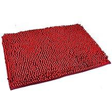 tappeti bagno rosso
