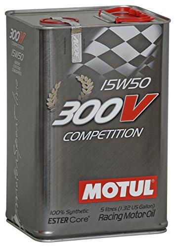 Motul 103920Huile moteur 300V Competition 15W de 50, 5l pas cher