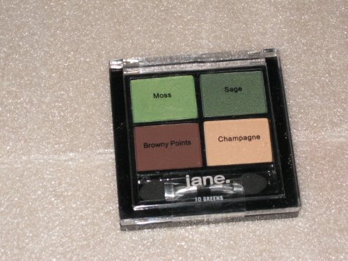 Jane Eye Zing Carry Along Eye Shadow Quad 10 Green by Jane & Co