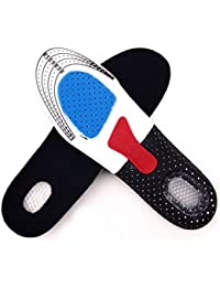 1 paire Unisexe Semelles Souples aux Chaussures du Randonneur Coussins de Chaussures Désodorisant Absorbe la Sueur