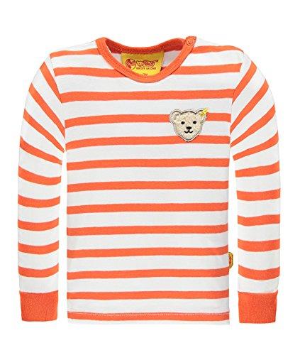 Steiff-Baby-Jungen-Langarmshirt-T-Shirt-11-Arm-6713501-Orange-Mandarin-Orange-4650-74