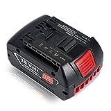 Werkzeug Akku, 18V 3.0Ah Li-Ion Rechargeable Batterie Ersatz für Bosch 3,0Ah Wiederaufladbare Batterie BAT609 BAT609G BAT618 BAT618G BAT619 BAT619G BAT622 BAT620-2PK SKC181-202L, Slide Batterie für Bosch Professional, Bohrhammer / Heckenschere / Handkreissaege / Winkelschleifer / Stichsäge / Akkubohrschrauber / Radio / Rasenmäher (nicht originale Marke Bosch) - Topgio (3.0Ah)