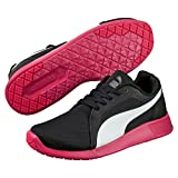 Puma Unisex-Erwachsene ST Trainer Evo Low-Top, Schwarz (Black-White-Rose red 08), 42 EU