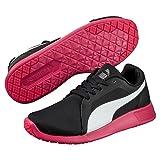 Puma ST Trainer Evo, Unisex-Erwachsene Sneakers, Schwarz (Black-White-Rose Red 08), 42 EU (8 Erwachsene UK)