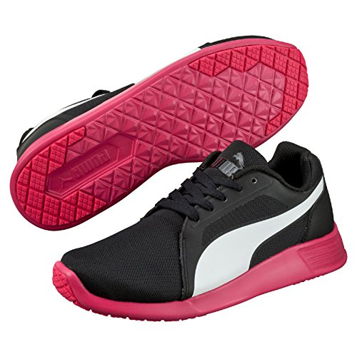 Puma St Evo, Scarpe da Corsa Unisex – Adulto Multicolor (Black/White/Rose Red)
