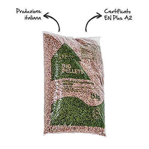 Pellet kg 15 faggio e abete bio pellets