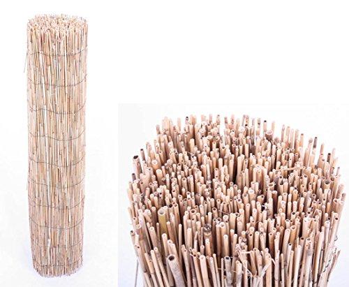 Bambusmatte Rio eco Modell, Bambus Sichtschutz günstig mit 180 x 500 cm - Sichtschutzzäune Sichtschutzwand Gartensichtschutz Balkonsichtschutz Winschutz Sichtschutzwand für Garten und Terasse Blichschutz für Balkon Sichtschutzwände Sichtschutzwände </p> --> großes Sortiment an Sichtschutz, Bambus, Schilf und Naturprodukte für Garten