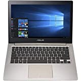 "ASUS ZenBook 13.3"" FHD IPS Touchscreen Notebook Computer-intel Core I5-6200U 2.3GHz,8GB RAM, 256GB SSD, Windows 10-Smokey Brown"