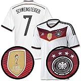 Germany Home 4 Star Boys Schweinsteiger Shirt 2014 2015